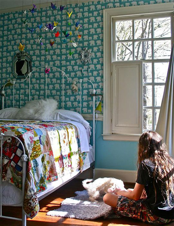 pretty bohemian girl room