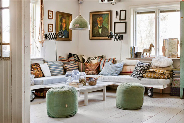 Vintage scandinavian house style by johanna flyckt gashi for Swedish home design