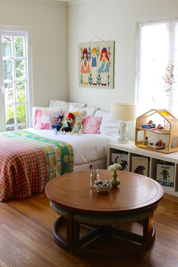 Small Bohemian Kids Bedrooms
