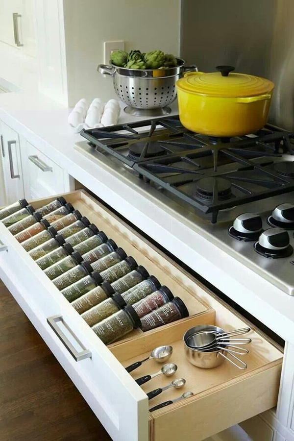 Kitchen Design Ideas Org ~ Smart kitchen organization and saving ideas home