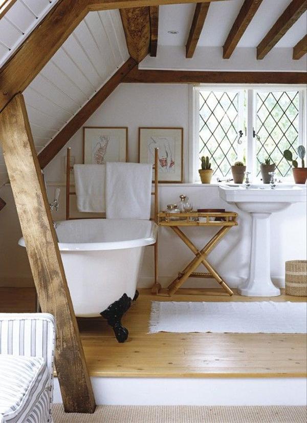 vintage attic bathroom furniture