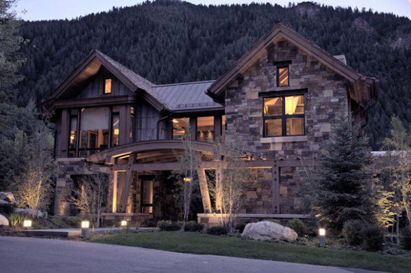 Winter mountain house ideas for Mtn house
