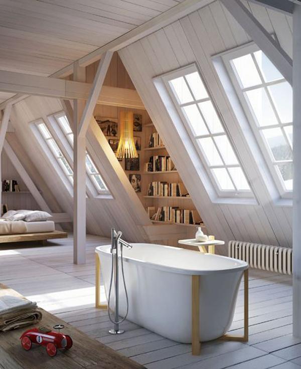 Small Attic small-attic-bathroom-decoration