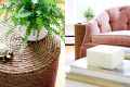 DIY-rope-wrapped-side-table