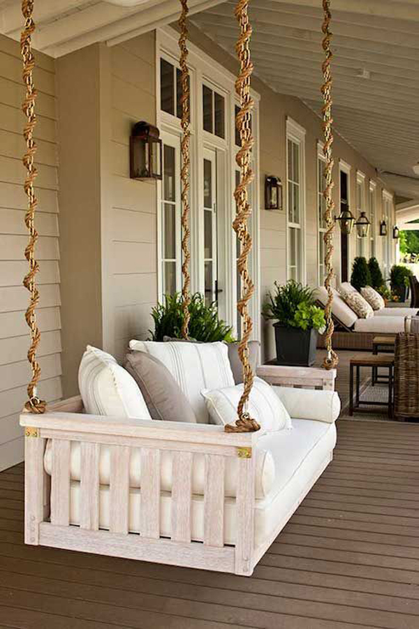 25 Fun And Relaxing Outdoor Swing Sets Homemydesign
