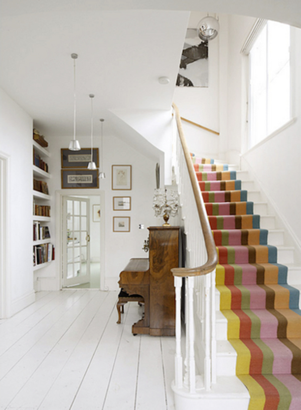 25 pretty painted stairs ideas home design and interior - Home interior design steps ...