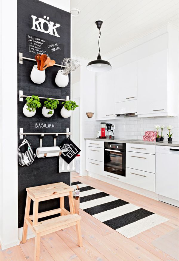 Ikea Keuken Wand : Warm and cozy scandinavian kitchen ideas home ...