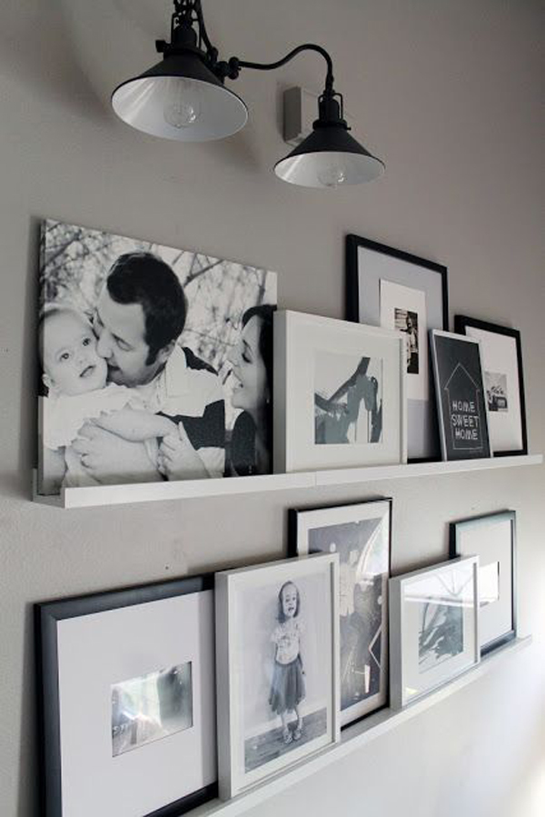 Wall Home Decor Ideas : Love photo wall ideas home design and interior
