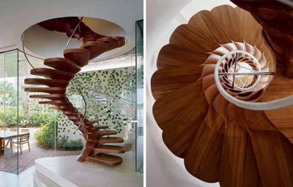 flower-spiral-stairs-design