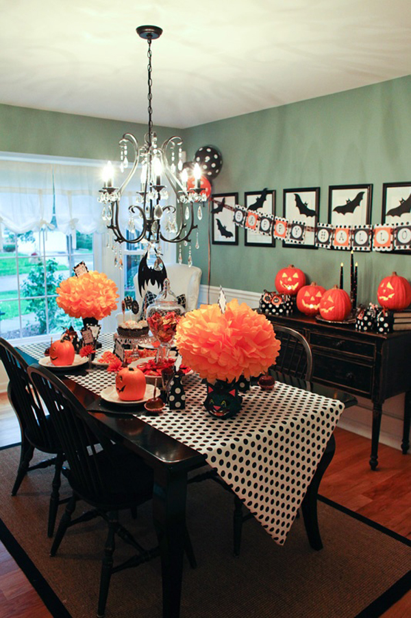 how to keep your dining table decorated