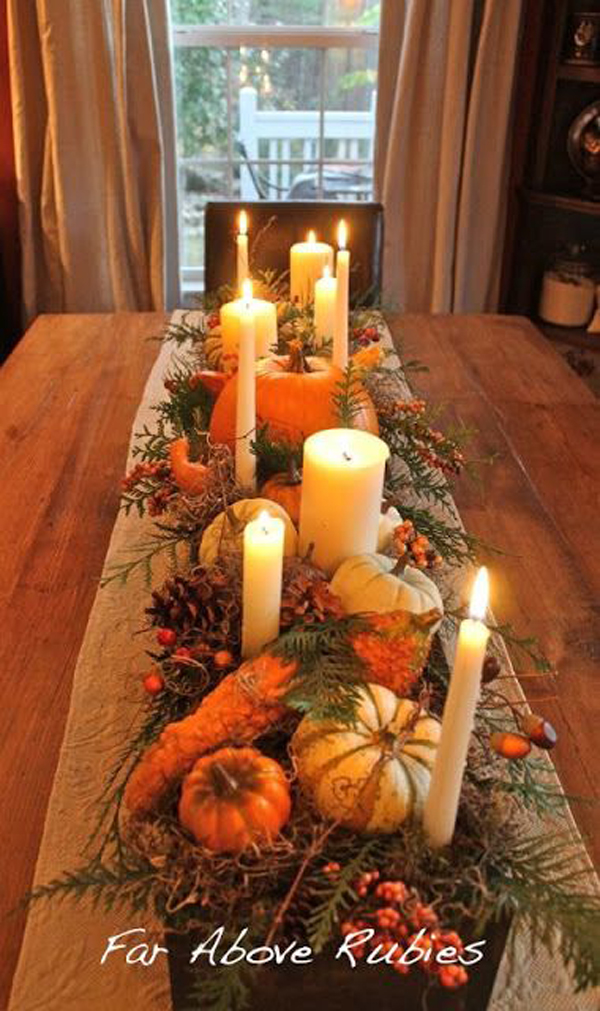 gallery of 30 dramatic halloween table decor ideas - Halloween Table Decoration