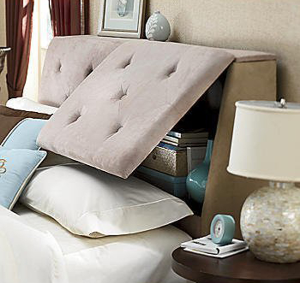 headboard bedroom storage ideas