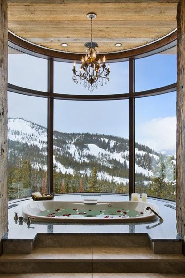 Most Beautiful Bathrooms In The World: Luxury-bathroom-with-mountain-view