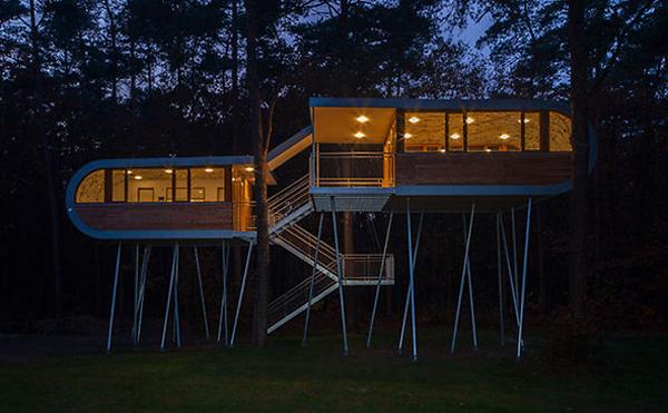 modern treehouse designs