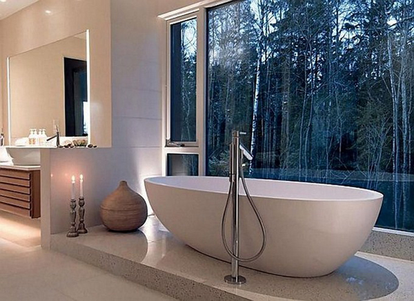 15 most beautiful bathroom views home design and interior. Black Bedroom Furniture Sets. Home Design Ideas