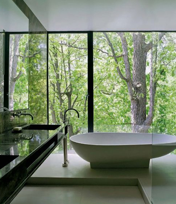 cool ideas for attic bedrooms - 15 Most Beautiful Bathroom Views