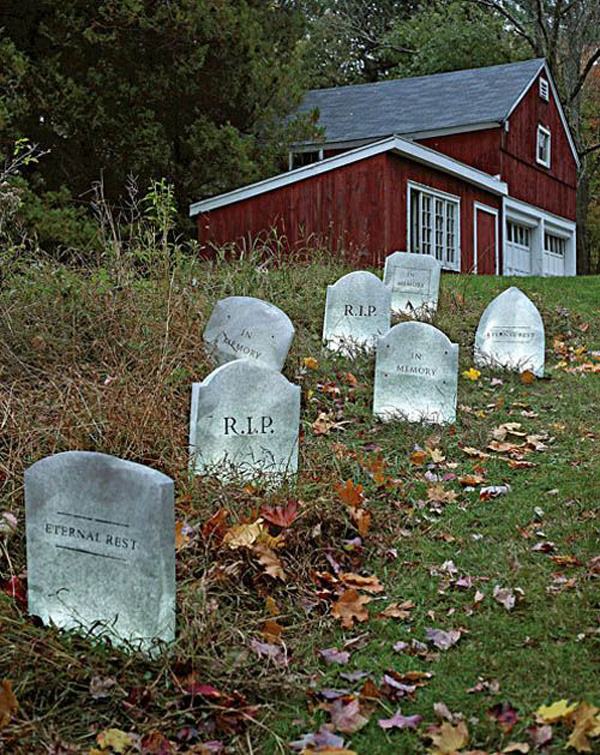gallery of 25 cool and scary halloween decorations