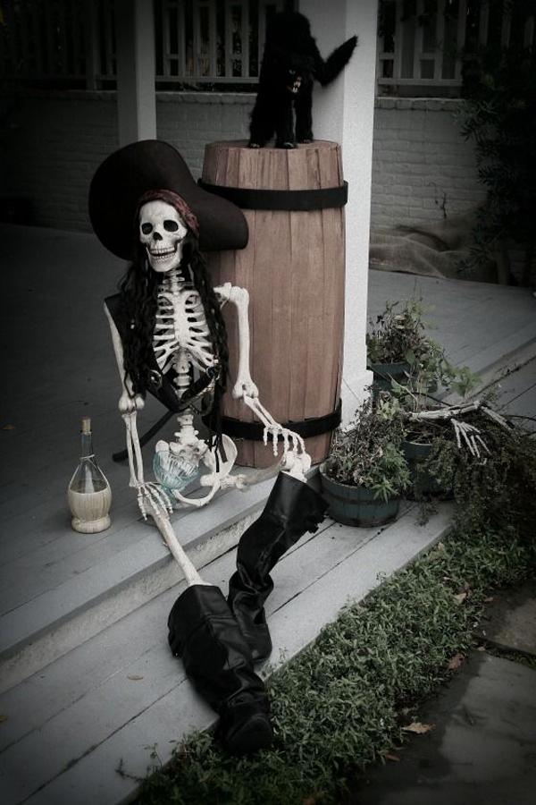 Pirates Skull Halloween Decorations