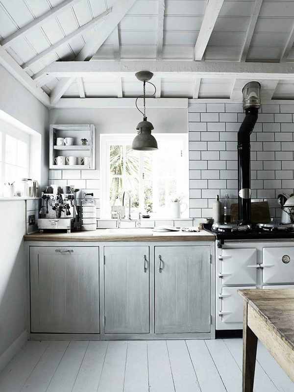 Rustic scandinavian kitchen design Scandinavian kitchen designs
