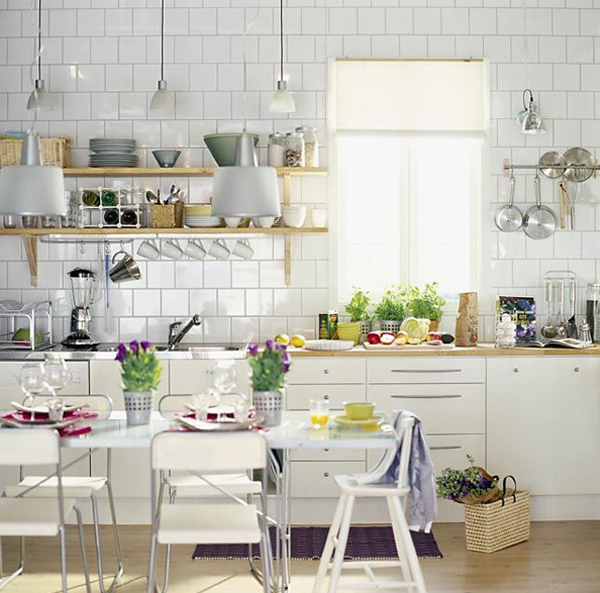 Kitchen Decor Ideas Pictures: 35 Warm And Cozy Scandinavian Kitchen Ideas