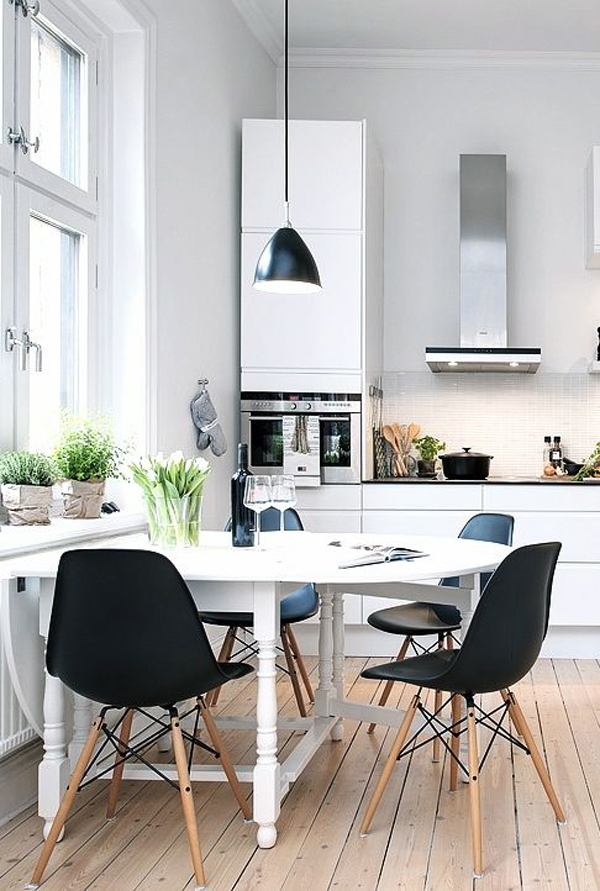 Kitchen Room Interior Design: 35 Warm And Cozy Scandinavian Kitchen Ideas