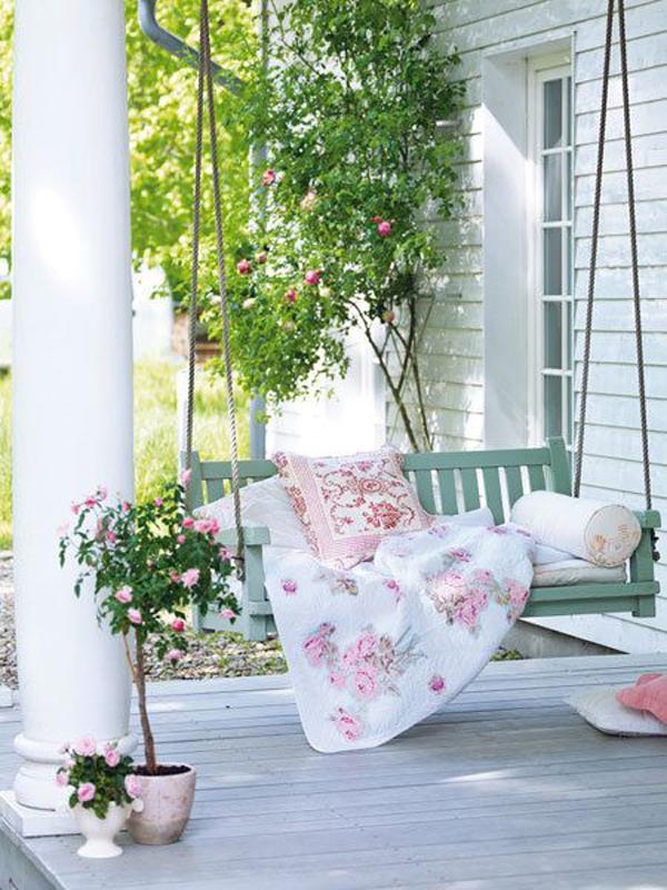 Small porch swing ideas for Small porch swing ideas