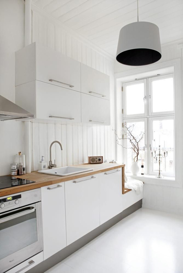 35 warm and cozy scandinavian kitchen ideas home design and interior - Style scandinave ikea ...