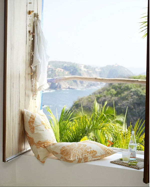 Colorful Rooms With A View: Summer-balcony-with-beautiful-view