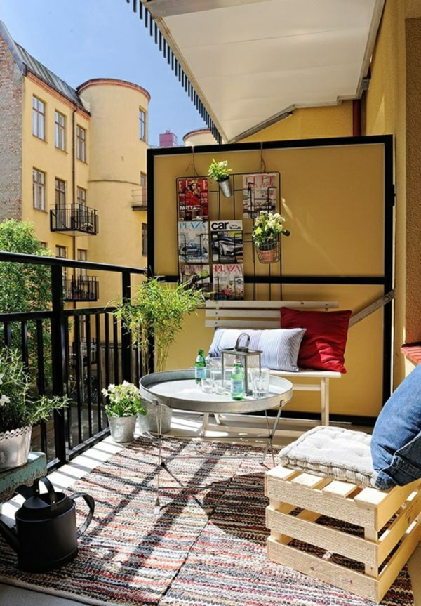 20 colorful balcony ideas for summer home design and for Decorate your balcony