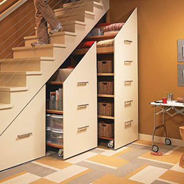 under stairs storage cabinet