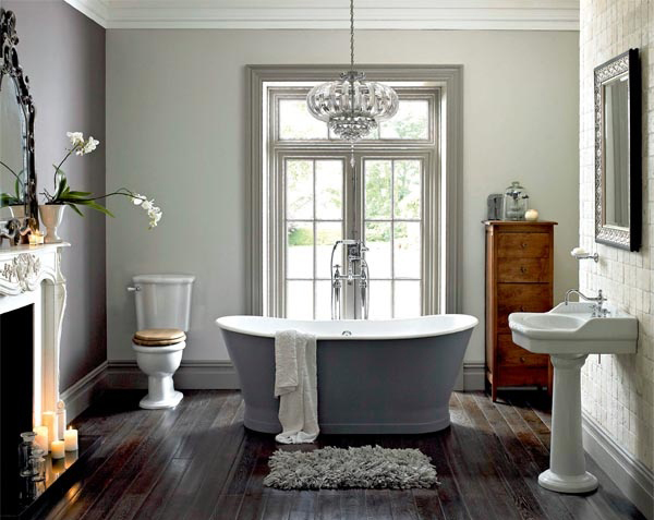 21 Stylish Bathrooms With Fireplaces Home Design And