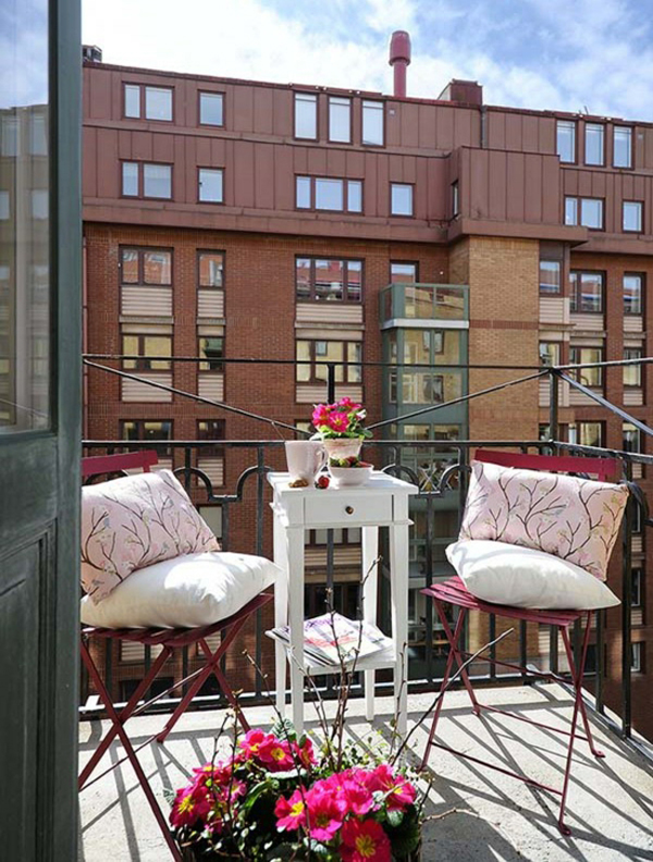 Apartment Balcony Decorating Boho