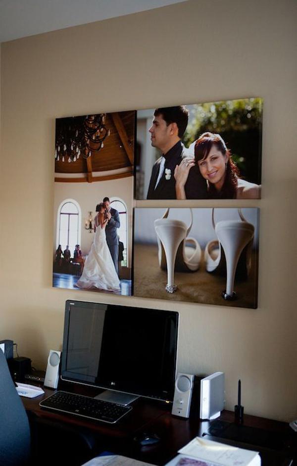 Wedding Photo Wall Decoration Homemydesign
