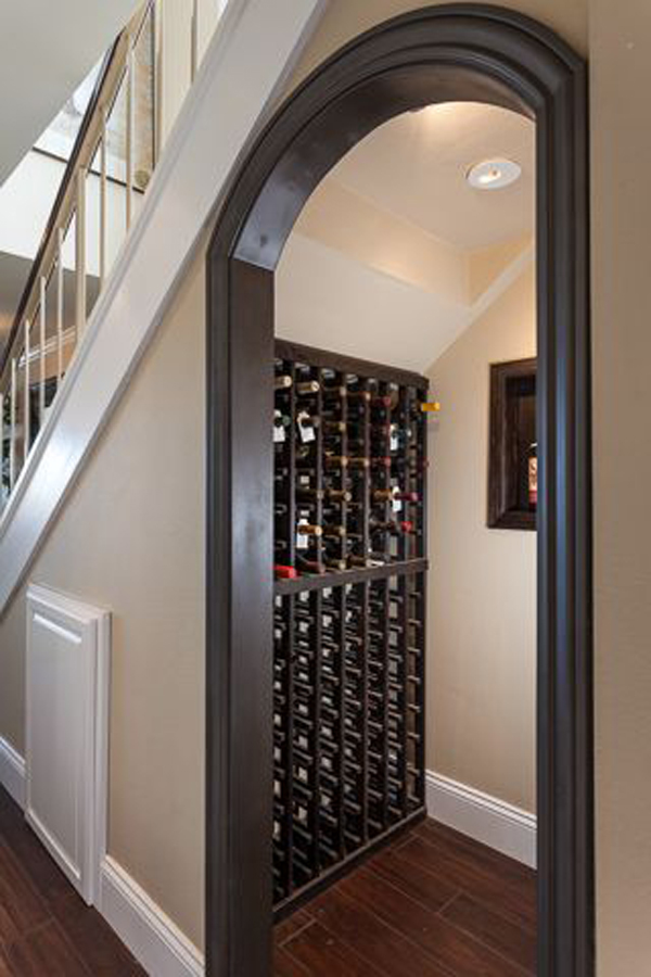 Wine Cellar Under Stairs
