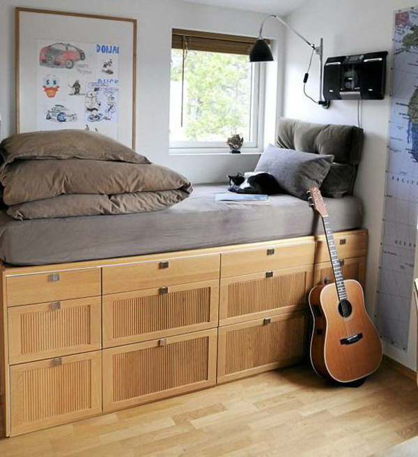20 Functional Beds With Storage Ideas