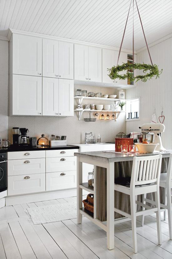 For some variety, you can add modern style and stylish as you wish, the  following 35 Scandinavian kitchen ideas that will inspire!