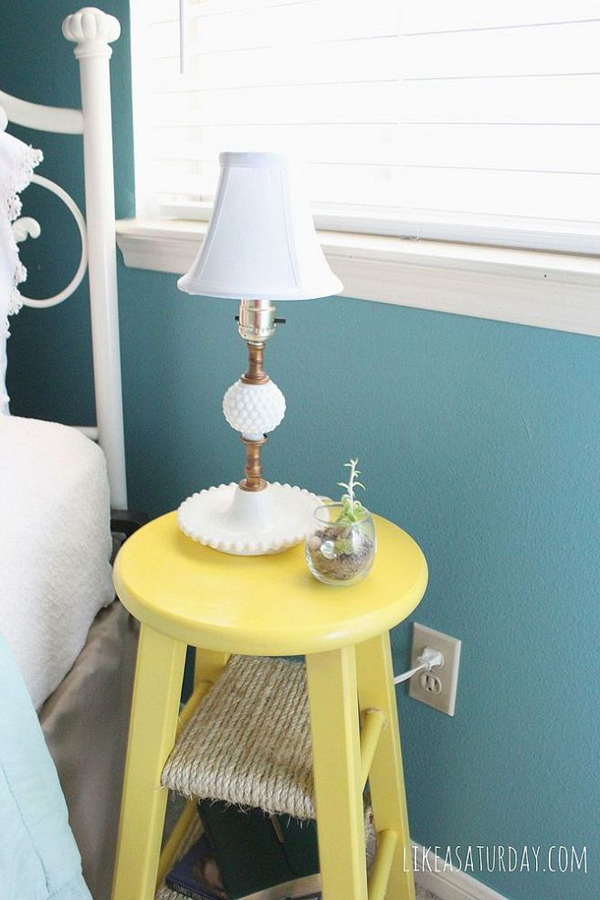 30 Ways To Make Your Home Pinterest Perfect: 20 Creative DIY Side Tables