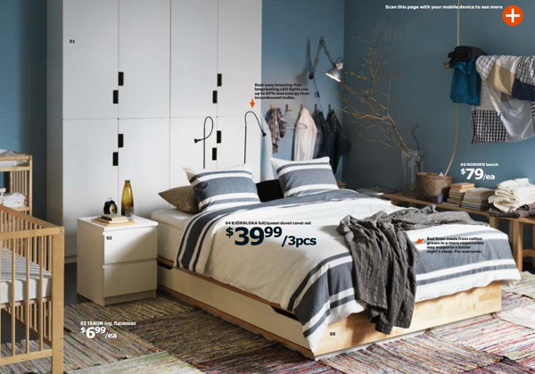 ikea catalog bedroom 2015