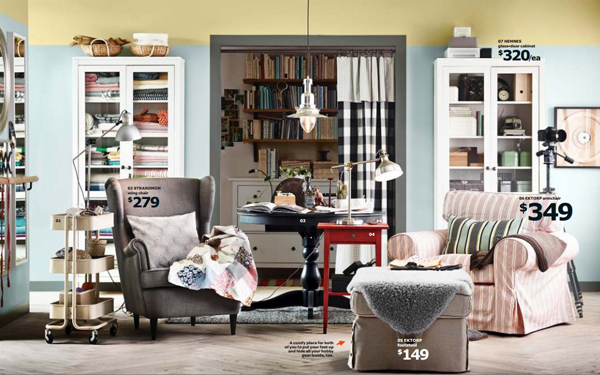 Ikea catalog living room 2015 for Drawing room furniture catalogue