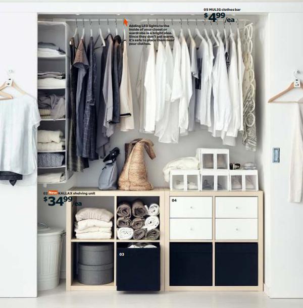 Ikea Closet 2015