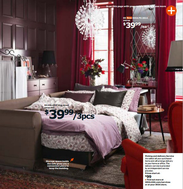 Ikea contempory bedroom 2015 for Bedroom decoration 2015