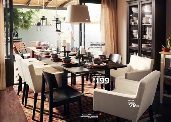 Ikea contempory dining room 2015 - Ikea dining rooms ...