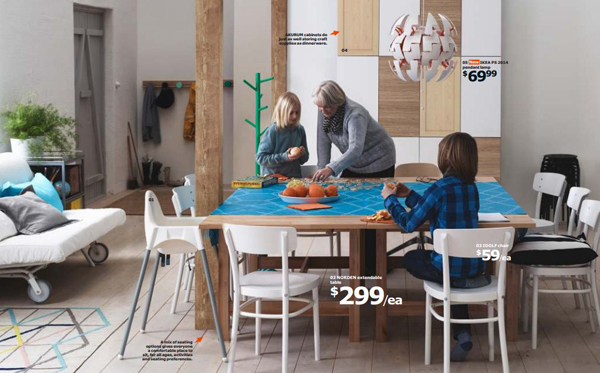 Ikea family dining room 2015 for Family dining room ideas