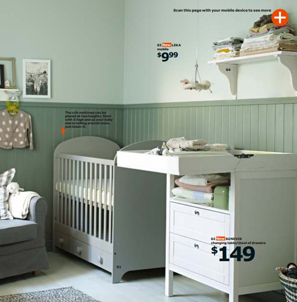 Ikea Nursery Room 2015
