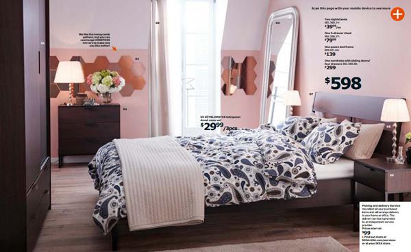Ikea pink bedroom 2015 for Bedroom ideas 2015