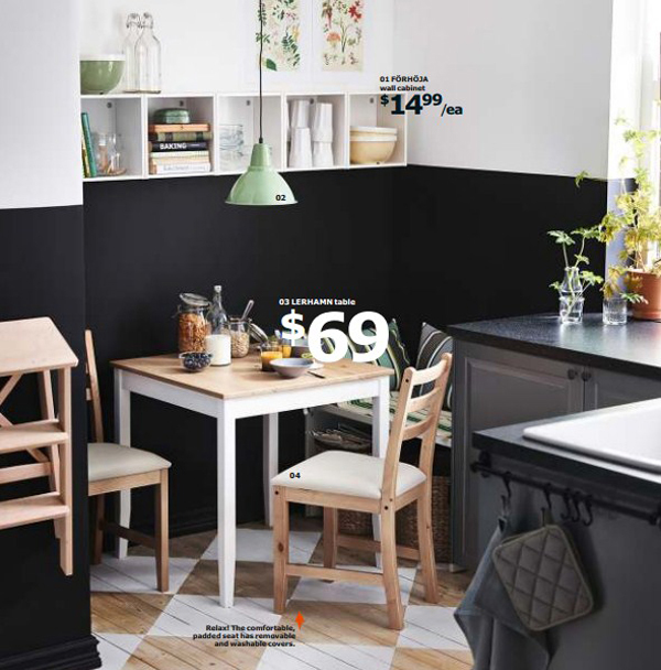 Ikea small dining room 2015 for Ikea room ideas 2015