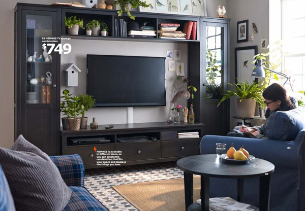 Ikea tv area 2015 for Home designers in my area