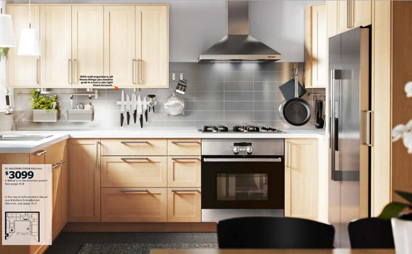 ikea wooden kitchen furniture 2015