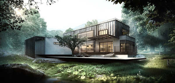 Asian Inspired House By Arqui9