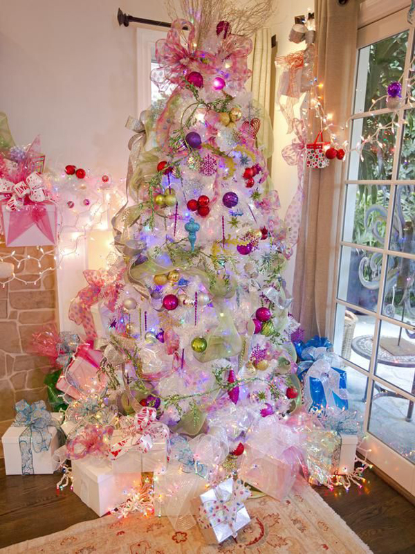 beautiful pink christmas trees - Pink Christmas Trees
